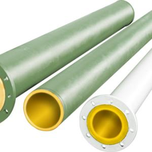 Steel tubes coated inside with INAPRENE™ polyurethane