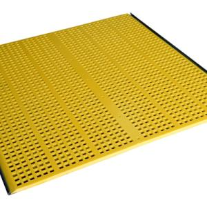 Polyurethane mesh built in INAPRENE® with hooks